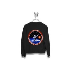 Bluza Space Shuttle Mission STS-7 Challenger Damska. Czarne bluzy damskie Failfake. Za 160.00 zł.