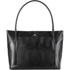 Torebka damska 15-4-206-1J. Czarne torebki do ręki damskie Wittchen. Za 599.00 zł.