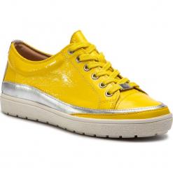 Półbuty CAPRICE - 9-23654-22 Yellow Naplak 613. Żółte półbuty damskie Caprice, z materiału. Za 269.90 zł.