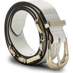 Pasek Damski GUESS - Not Coordinated Belts BW7018 VIN30  OWI. Białe paski damskie Guess, w paski, ze skóry ekologicznej. Za 189.00 zł.