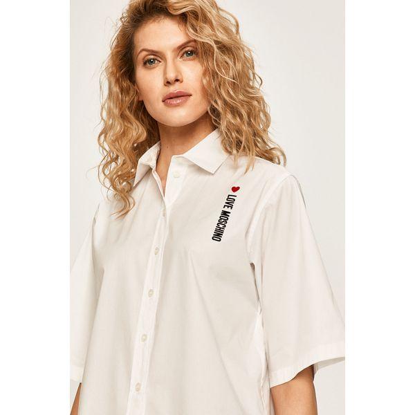 Love Moschino Koszula Białe bluzki damskie Love Moschino  ATjxm