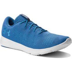 Buty UNDER ARMOUR - Ua Rapid 1297445-400 Blu. Niebieskie buty sportowe męskie Under Armour, z gumy. W wyprzedaży za 159.00 zł.