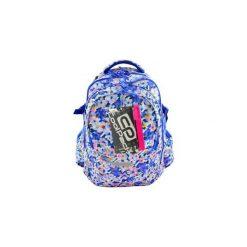 Plecak młodzieżowy CoolPack Factor Violets. Niebieskia torby i plecaki dziecięce Patio, z materiału. Za 109.00 zł.