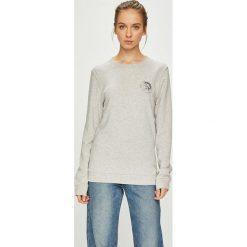 Diesel - Bluza. Szare bluzy damskie Diesel, z bawełny. Za 229.90 zł.