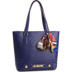 Torebka LOVE MOSCHINO - JC4034PP17LD0750 Blu. Niebieskie torebki do ręki damskie Love Moschino, ze skóry ekologicznej. Za 799.00 zł.