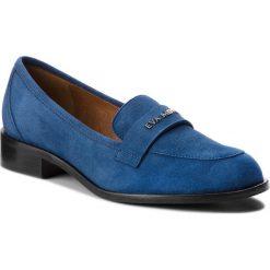 Półbuty EVA MINGE - Astorga 3B 18SF1372477ES  807. Niebieskie półbuty damskie Eva Minge, ze skóry, klasyczne. W wyprzedaży za 239.00 zł.