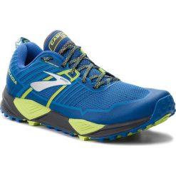 Buty BROOKS - Cascadia 13 110285 1D 405 Blue/Black/Lime. Niebieskie buty sportowe męskie Brooks, z materiału. W wyprzedaży za 409.00 zł.