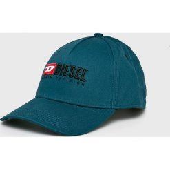 Diesel - Czapka. Szare czapki i kapelusze męskie Diesel. Za 269.90 zł.
