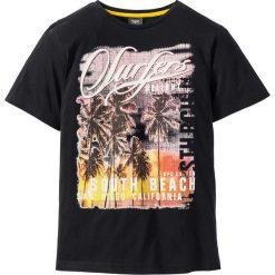 T-shirt z fotodrukiem Regular Fit bonprix czarny. T-shirty męskie marki Giacomo Conti. Za 24.99 zł.