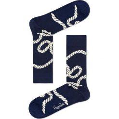Happy Socks - Skarpety Rope. Niebieskie skarpety męskie Happy Socks. W wyprzedaży za 29.90 zł.