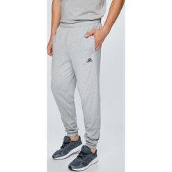 Adidas Performance - Spodnie. Szare spodnie sportowe męskie adidas Performance, z bawełny. W wyprzedaży za 149.90 zł.