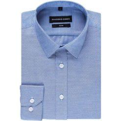 Koszula SIMONE KDNS000258. Niebieskie koszule męskie Giacomo Conti, z klasycznym kołnierzykiem, z długim rękawem. Za 149.00 zł.
