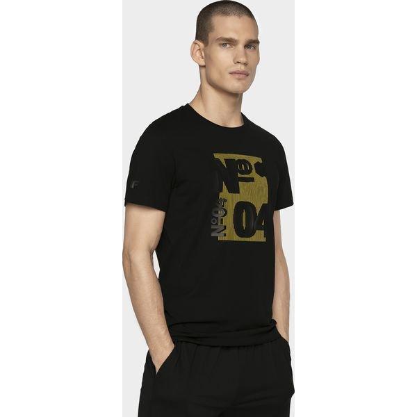 T shirt męski TSM011 głęboka czerń