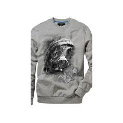 Bluza UNDERWORLD casual Maska. Szare bluzy męskie Underworld, z nadrukiem, z bawełny. Za 119.99 zł.