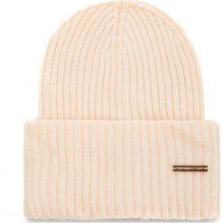 Czapka TRUSSARDI JEANS - Hat Rib-Knitted 59Z00079 W030. Brązowe czapki i kapelusze damskie TRUSSARDI JEANS, z jeansu. Za 189.00 zł.