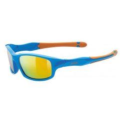 Uvex Okulary Przeciwsłoneczne Sportstyle 507 Blue Orange (4316). Niebieskie okulary przeciwsłoneczne dla dzieci Uvex. W wyprzedaży za 59.00 zł.