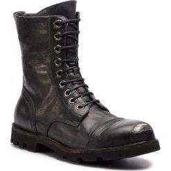 Trapery DIESEL - Steel Y00981-PR080-T8013 Black. Czarne śniegowce i trapery męskie Diesel, ze skóry. Za 1,359.00 zł.