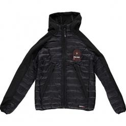 """Kurtka przejściowa """"Aube"""" w kolorze czarnym. Czarne kurtki i płaszcze dla chłopców marki Geographical Norway Kids & Women, z aplikacjami. W wyprzedaży za 226.95 zł."""