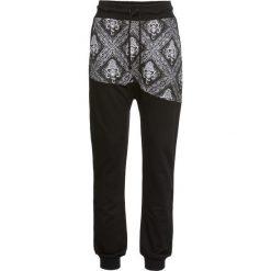 Spodnie sportowe haremki bonprix czarny. Czarne spodnie dresowe damskie bonprix, z koronki. Za 89.99 zł.