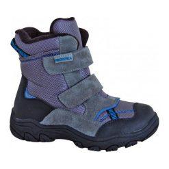 Protetika Chłopięce Buty Zimowe Za Kostkę Strong, 28, Szare. Szare buty zimowe chłopięce Protetika, ze skóry. Za 209.00 zł.