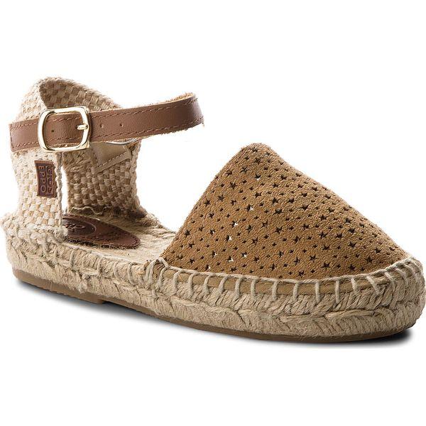 adef86b6 Sandały GIOSEPPO - Lilestar 39672-36 Camel - Sandały dziewczęce ...