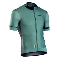 Northwave Koszulka Męska Airout Jrs S/S Green/Black Xl. Czarne koszulki sportowe męskie Northwave, z krótkim rękawem. Za 415.00 zł.