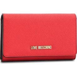 Duży Portfel Damski LOVE MOSCHINO - JC5553PP16LQ0500  Rosso. Czerwone portfele damskie Love Moschino, ze skóry ekologicznej. Za 369.00 zł.