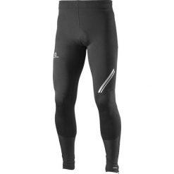Salomon Spodnie Męskie Getry Agile Softshell Tight Black r.M (L39774300). Legginsy sportowe męskie marki bonprix. Za 239.00 zł.