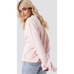 NA-KD Bluza Good Vibes - Pink. Różowe bluzy damskie NA-KD, z napisami, z bawełny. Za 100.95 zł.
