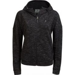 Bluza damska BLD608 - czarny melanż - Outhorn. Czarne bluzy damskie Outhorn, na lato, melanż, z bawełny. W wyprzedaży za 89.99 zł.