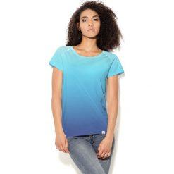 Colour Pleasure Koszulka CP-034 60  niebiesko-granatowa r. XS-S. Bluzki damskie marki Colour Pleasure. Za 70.35 zł.