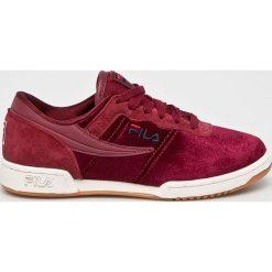 Fila - Buty Original Fitness V. Czerwone obuwie sportowe damskie Fila, z materiału. W wyprzedaży za 329.90 zł.