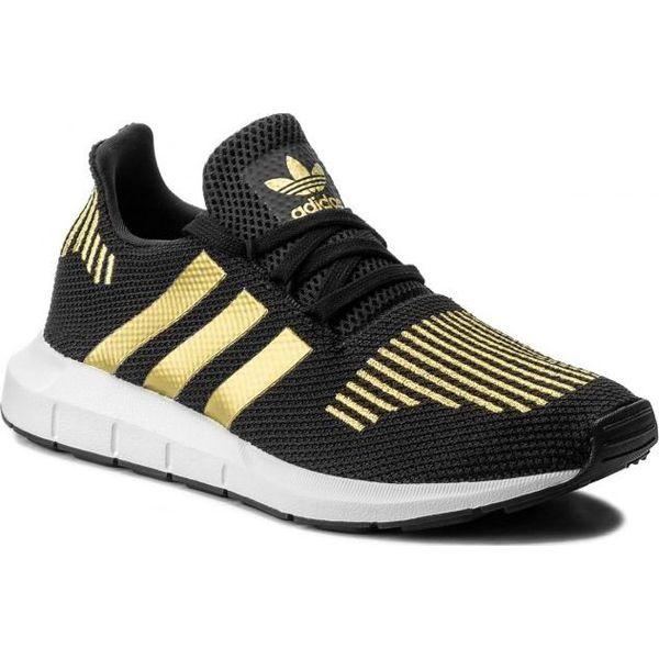 d3609c71 Adidas Buty Damskie Originals Swift Run W Czarno - Złote r. 38 2/3 ...