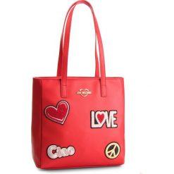 Torebka LOVE MOSCHINO - JC4081PP17LJ0500 Rosso. Czerwone torebki do ręki damskie Love Moschino, ze skóry ekologicznej. Za 909.00 zł.