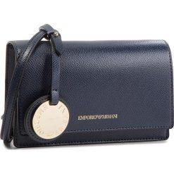 Torebka EMPORIO ARMANI - Y3B086 YH15A 88293 Midnight Blue/Black. Niebieskie listonoszki damskie Emporio Armani, ze skóry ekologicznej. W wyprzedaży za 389.00 zł.