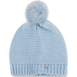 Czapka TRUSSARDI JEANS - Hat Knitted Pon Pon 59Z001169 U115. Niebieskie czapki i kapelusze damskie TRUSSARDI JEANS, z jeansu. Za 189.00 zł.