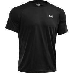 T-shirt Under Armour Tech SS Tee 1228539-001. Czarne t-shirty męskie Under Armour, z materiału. W wyprzedaży za 89.99 zł.