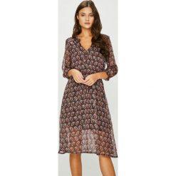 Answear - Sukienka Heritage. Szare sukienki damskie ANSWEAR, casualowe. W wyprzedaży za 139.90 zł.