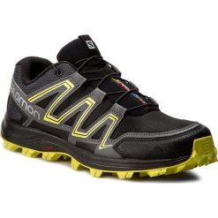 Buty SALOMON - Speedtrak 394700 27 W0 Black/Magnet/Sulphur Spring. Czarne buty sportowe męskie Salomon, z materiału. W wyprzedaży za 349.00 zł.