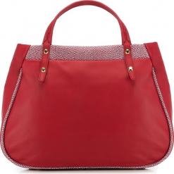 Torebka damska 82-4E-010-3. Czerwone torebki do ręki damskie Wittchen, w paski. Za 499.00 zł.