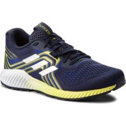 Buty adidas - Aerobounce 2 M AQ0534  Mystery Ink/Silver Met./Shock Yellow. Niebieskie buty sportowe męskie Adidas, z materiału. W wyprzedaży za 289.00 zł.