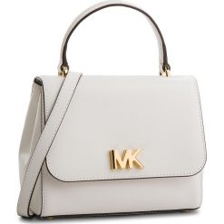 Torebka MICHAEL MICHAEL KORS - Mott 30S8GOXS1L Optic White. Białe torebki do ręki damskie MICHAEL Michael Kors, ze skóry. W wyprzedaży za 759.00 zł.