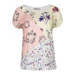 Desigual T-Shirt Damski Ambrosine Xs Biały. Białe t-shirty damskie Desigual. W wyprzedaży za 169.00 zł.