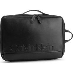Plecak CALVIN KLEIN - Elevated Logo Conv Backpack K50K503882 001. Czarne plecaki damskie Calvin Klein, ze skóry ekologicznej. Za 699.00 zł.