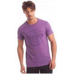 Polo Club C.H..A T-Shirt Męski Xl Fioletowy. Fioletowe koszulki polo męskie Polo Club C.H..A. W wyprzedaży za 119.00 zł.