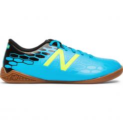Halówki Junior Visaro 2.0 Control IN - JSVCIMH2. Niebieskie buty sportowe chłopięce New Balance, z gumy. W wyprzedaży za 129.99 zł.