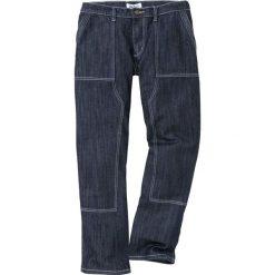 Dżinsy WORKER Loose Fit Straight bonprix ciemnoniebieski. Niebieskie jeansy męskie bonprix. Za 139.99 zł.