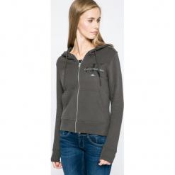 Calvin Klein Jeans - Bluza. Czarne bluzy damskie Calvin Klein Jeans, z bawełny. W wyprzedaży za 329.90 zł.