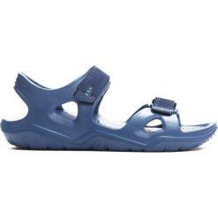 Niebieskie Sandały Innocence. Niebieskie sandały męskie Born2be, z materiału. Za 29.99 zł.