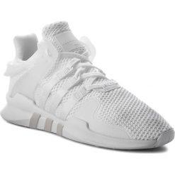 Białe półbuty damskie Adidas, bez obcasa Kolekcja zima